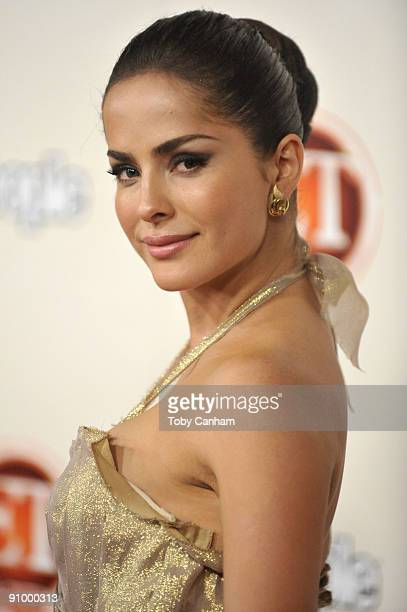Danna Garcia poses for a picture at the 13th annual Entertainment Tonight Emmy party at Vibiana on September 20, 2009 in Los Angeles, California.