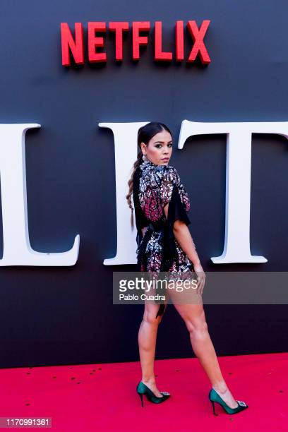 Danna Paola attends Elite 2nd Season Premiere at Callao Cinema on August 29 2019 in Madrid Spain