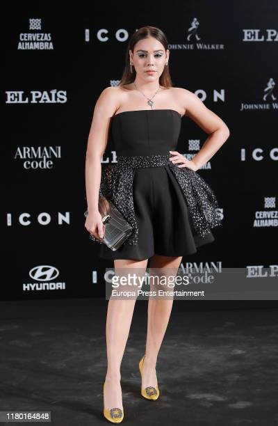 Danna Paola attends 'ICON' magazine awards at Real Fabrica de Tapices on October 09 2019 in Madrid Spain
