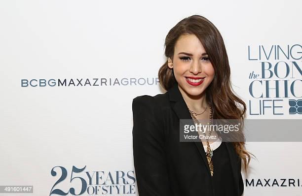Danna Paola attends the BCBG Max Azria 25th anniversary at Plaza Carso on May 16 2014 in Mexico City Mexico
