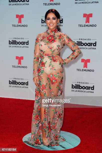 Danna Paola attends the Billboard Latin Music Awards at Watsco Center on April 27 2017 in Coral Gables Florida