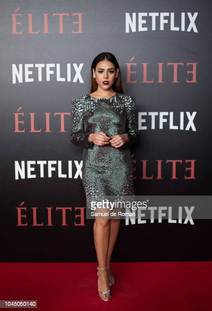 Danna Paola attends the World Premiere of Netflixs 'Elite' at Nubel on October 2 2018 in Madrid Spai