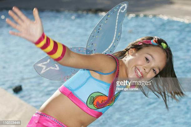 Danna Paola during Danna Paola Portrait Session April 22 2005 at Lincoln Road in Miami Beach Florida United States