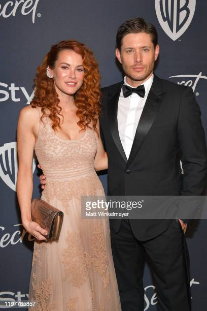 Danneel Ackles and Jensen Ackles attend The 2020 InStyle And Warner Bros 77th Annual Golden Globe Awards PostParty at The Beverly Hilton Hotel on...