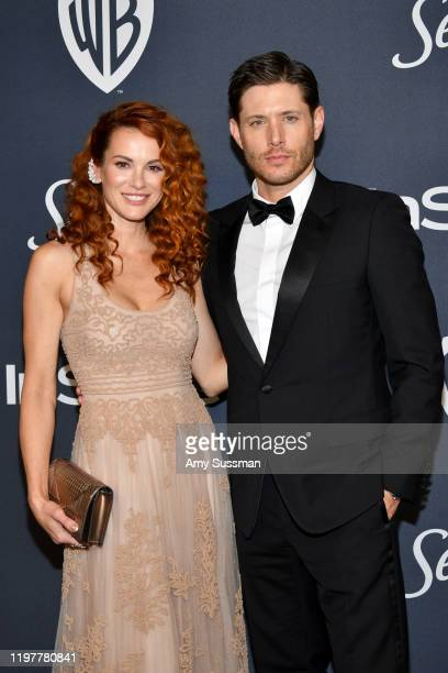 Danneel Ackles and Jensen Ackles attend the 21st Annual Warner Bros And InStyle Golden Globe After Party at The Beverly Hilton Hotel on January 05...