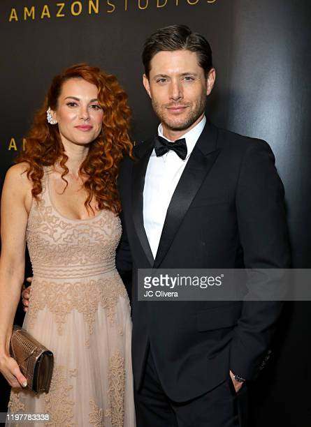 Danneel Ackles and Jensen Ackles attend the Amazon Studios Golden Globes After Party at The Beverly Hilton Hotel on January 05 2020 in Beverly Hills...