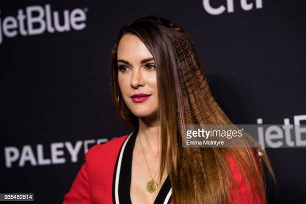 Danneel Ackles attends the Paley Center for Media's 35th Annual PaleyFest Los Angeles Supernatural at Dolby Theatre on March 20 2018 in Hollywood...