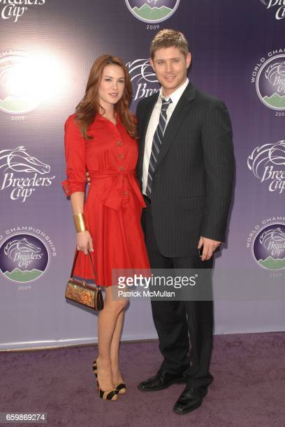 Danneel Harris and Jensen Ackles attend 26th RUNNING OF THE BREEDERS' CUP WORLD CHAMPIONSHIPS at Santa Anita Park on November 7 2009 in Arcadia CA