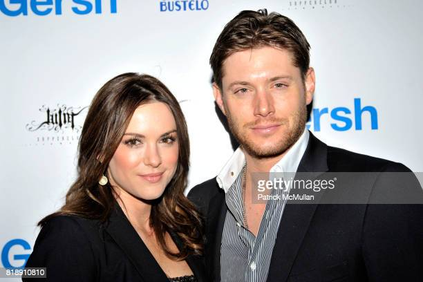 Danneel Harris and Jensen Ackles attend Celebration of the 2010 Upfronts and Broadway Season at Juliette Supperclub on May 18 2010 in New York City