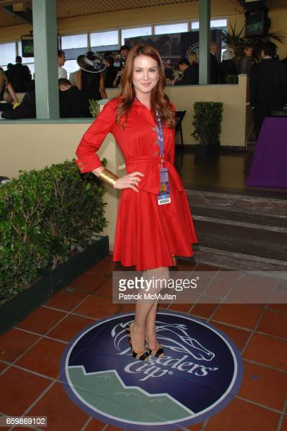 Danneel Harris attends 26th RUNNING OF THE BREEDERS' CUP WORLD CHAMPIONSHIPS at Santa Anita Park on November 7 2009 in Arcadia CA