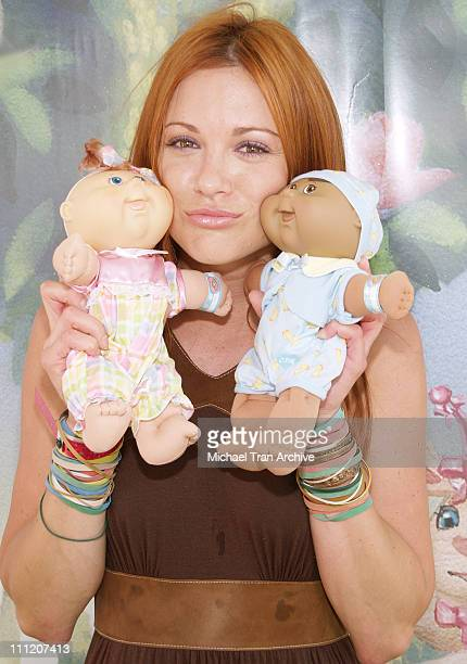 Danneel Harris during Silver Spoon Buffet at the Cabbage Kids Newborns Booth Day 1 at Wattles Mansion in Hollywood California United States