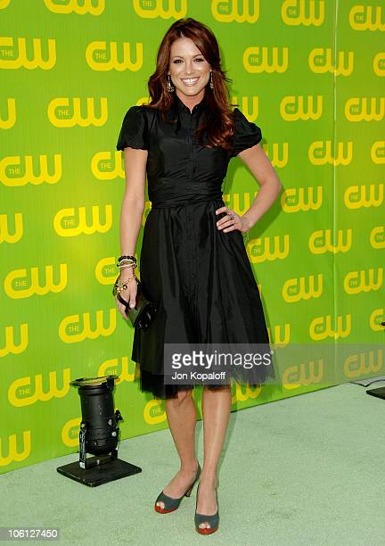 Danneel Harris during The CW Launch Party Arrivals at WB Main Lot in Burbank California United States