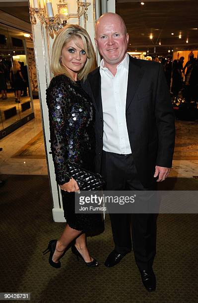 Danniella Westbrook and Steve McFadden attend the TV Quick TV Choice Awards at The Dorchester on September 7 2009 in London England