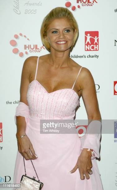 Danniella Westbrook during 2005 Children's Charities Trust Awards at Grosvenor House Hotel in London Great Britain