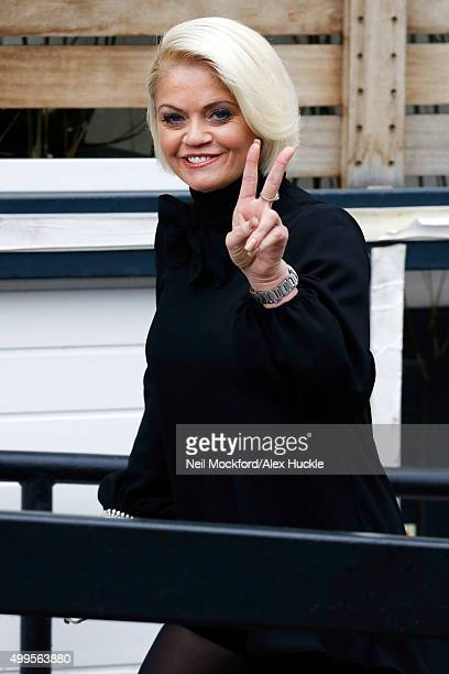 Danniella Westbrook seen at the ITV Studios on December 2 2015 in London England Photo by Neil Mockford/Alex Huckle/GC Images