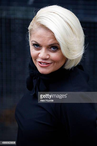 Danniella Westbrook seen at the ITV Studios on December 2 2015 in London England Photo by Alex Huckle/GC Images
