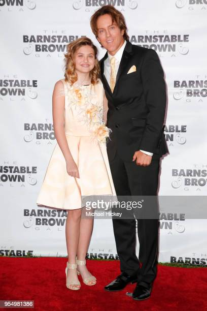 Dannielynn and Larry Birthed appear at the Barnstable Brown Gala on May 4 2018 in Louisville Kentucky