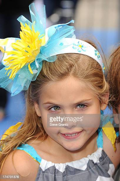 Dannielynn Birkhead arrivies at the Smurfs 2 Los Angeles Premiere at Regency Village Theatre on July 28 2013 in Westwood California