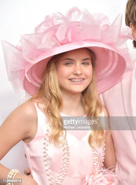 Dannielynn Birkhead attends the 145th Kentucky Derby at Churchill Downs on May 04 2019 in Louisville Kentucky