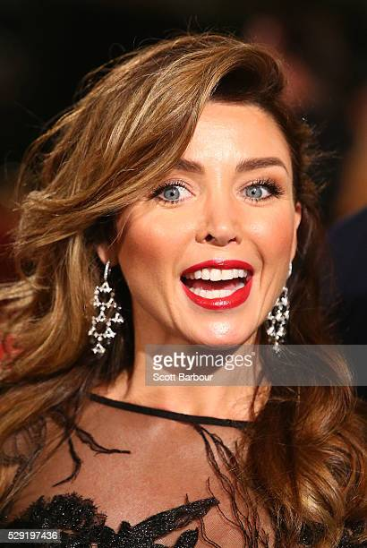 Dannii Minogue arrives at the 58th Annual Logie Awards at Crown Palladium on May 8 2016 in Melbourne Australia