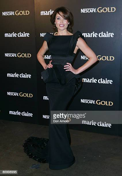 Dannii Minogue arrives for the 2009 Prix de Marie Claire Awards at the Royal Hall of Industries on April 16 2009 in Sydney Australia