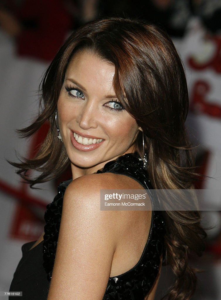 Dannii Minogue arrives for the National Television Awards at the Royal Albert Hall on 31 October 2007 in London England.
