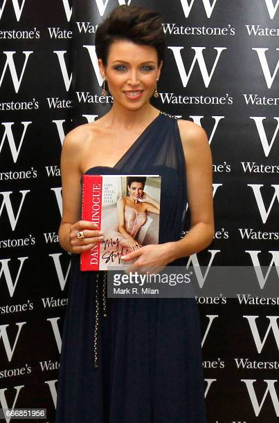 Dannii Minogue attends the book launch of her book at Waterstones in Bluewater Shopping Centre on September 29 2011 in London England