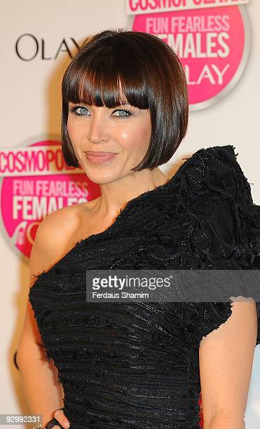 Dannii Minogue attends the Cosmopolitan Ultimate Women Of The Year Awards at Banqueting House on November 11 2009 in London England
