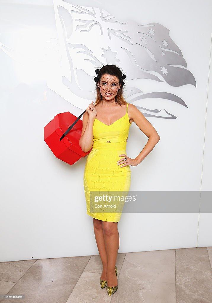 Dannii Minogue Opens Virgin Australia's Hat Valet Service
