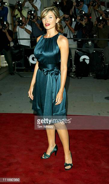 Dannii Minogue during 2005 GQ Men of the Year Awards Outside Arrivals at Royal Opera House in London Great Britain