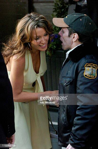 Dannii Minogue during Dannii Minogue Sighting at the Dorchester Hotel March 19 2005 at Dorchester Hotel in London Great Britain