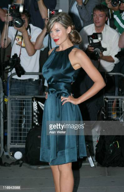 Dannii Minogue during GQ Men Of The Year Awards Outside Arrivals at Royal Opera House in London Great Britain