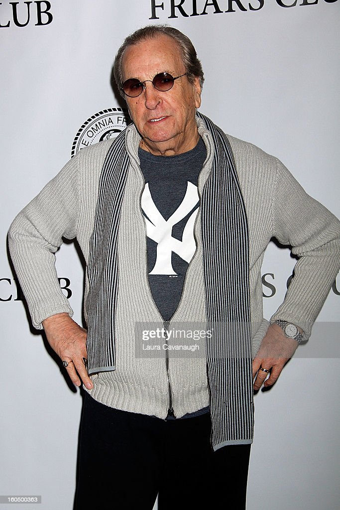 Danny Aiello attends The Friars Club Presents: Do You Think You Can Roast?! Padma Lakshmi at New York Friars Club on February 1, 2013 in New York City.