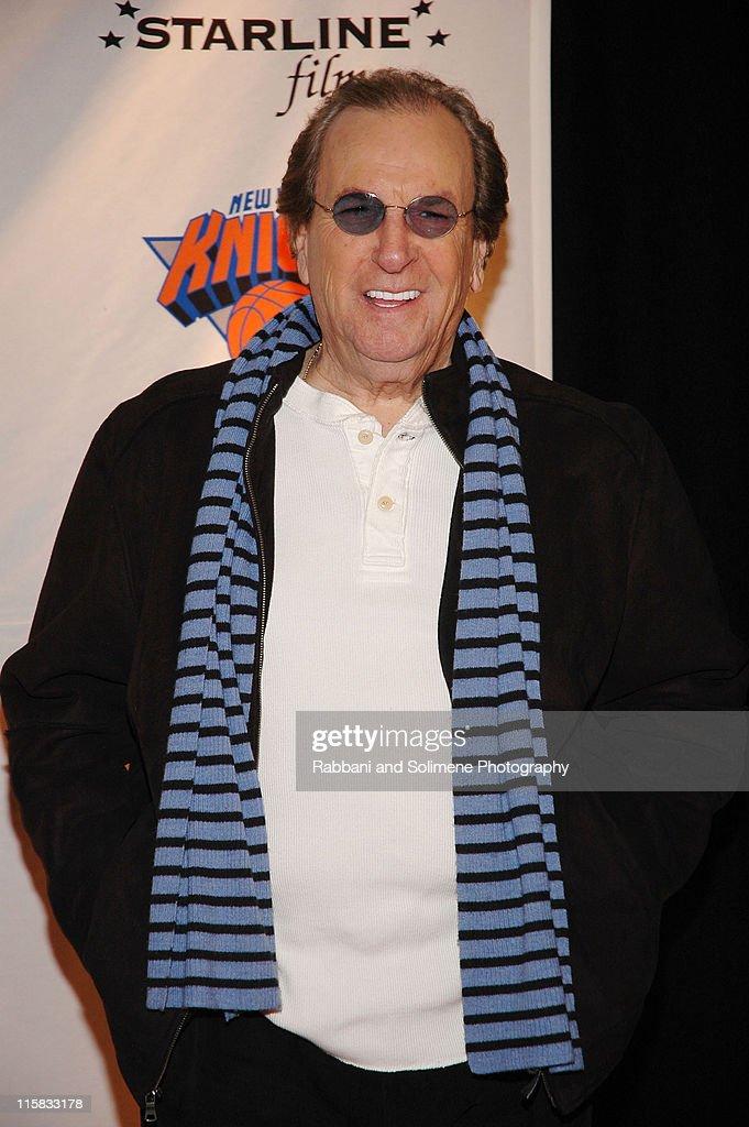 Danny Aiello during 1st Annual 4Chosen Celebrity Basketball Game at Basketball City Basketball City in New York New York, New York New York, United States.