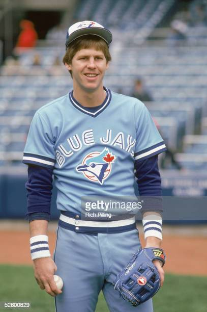Danny Ainge of the Toronto Blue Jays poses for a portrait in circa 1981. Danny Ainge played for the Toronto Blue Jays from 1979 -1981 and later...