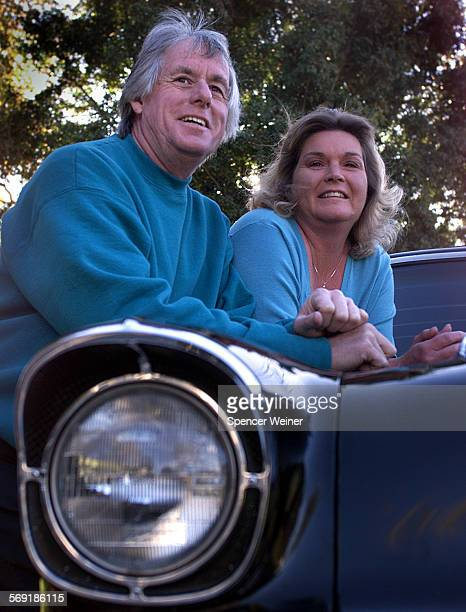 Danny and Kitten Bogner on their classic '57 'Nomad' The Bogner's are members of The Ventura County Chevy's club enthusiasts who own classic Chevy...