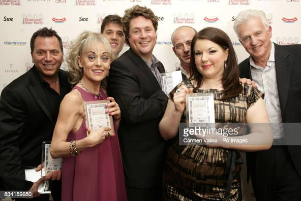 Danny Austin Tracie Bennett Ben JamesEllis Michael Ball Adam Spiegel Leanne Jones all for Hairspray Tom Viertel during the Whatsonstagecom...