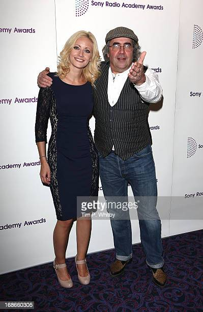 Danny Baker and guest attend the Sony Radio Academy Awards at The Grosvenor House Hotel on May 13, 2013 in London, England.