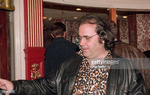 Danny Baker arriving at the screening of the Clash documentary 'Westway To The World' at the Coronet cinema Nottinghill Gate London 21st September...