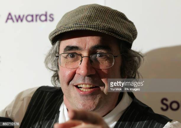 Danny Baker arriving for the Sony Radio Academy Awards at Grosvenor House Hotel in central London