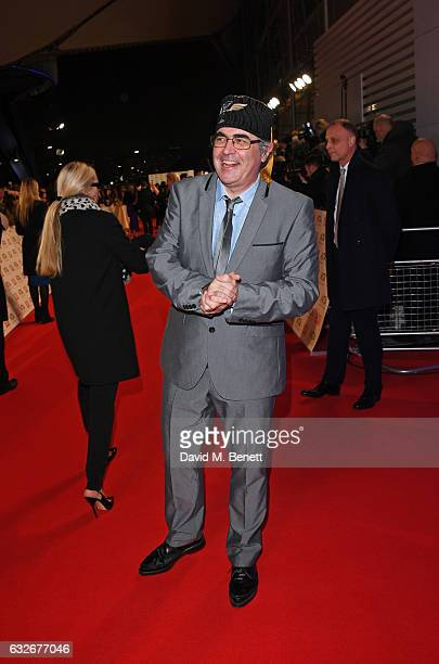 Danny Baker attends the National Television Awards on January 25, 2017 in London, United Kingdom.