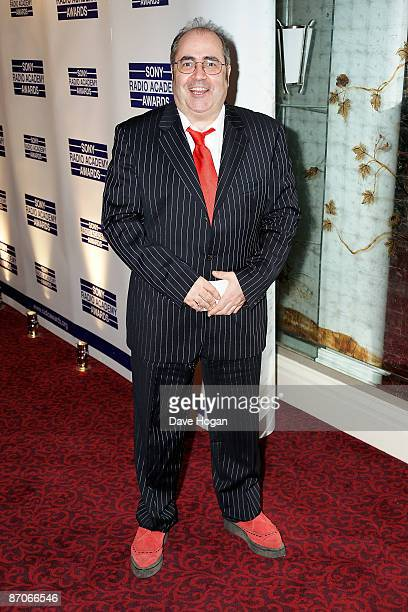 Danny Baker attends the Sony Radio Academy Awards at The Grosvenor House Hotel on May 11 2009 in London England