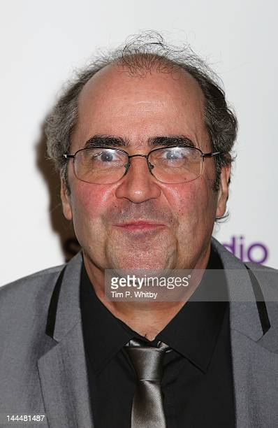 Danny Baker attends the Sony Radio Adacemy Awards 2012 recognising national and regional radio stations at Grosvenor House on May 14 2012 in London...