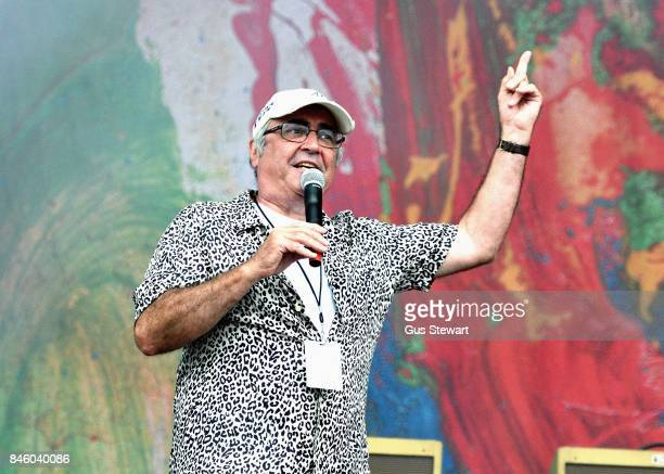 Danny Baker compares the main stage at OnBlackheath at Blackheath Common on September 10, 2017 in London, England.