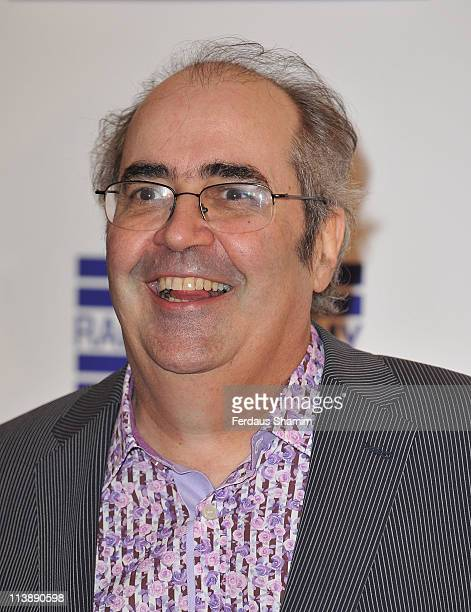 Danny Baker is seen at the Sony Radio Academy Awards at The Grosvenor House Hotel on May 9 2011 in London England