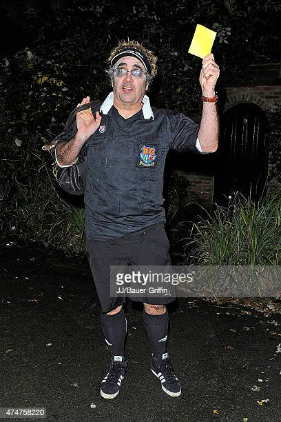 Danny Baker is seen during annual Halloween Party on November 01 2012 in London United Kingdom