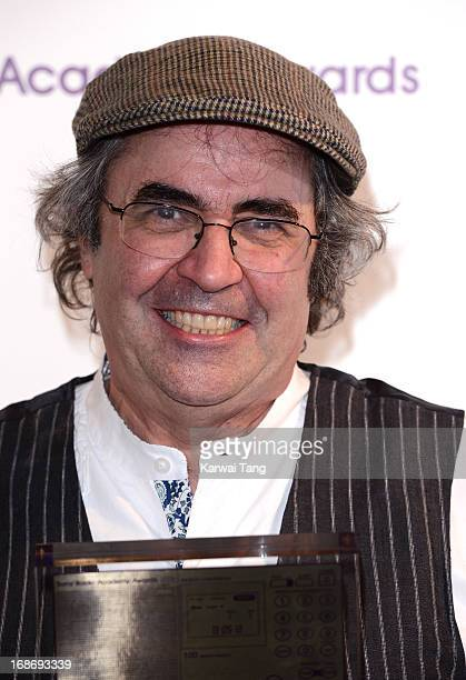 Danny Baker poses in the press room at the Sony Radio Academy Awards at The Grosvenor House Hotel on May 13, 2013 in London, England.