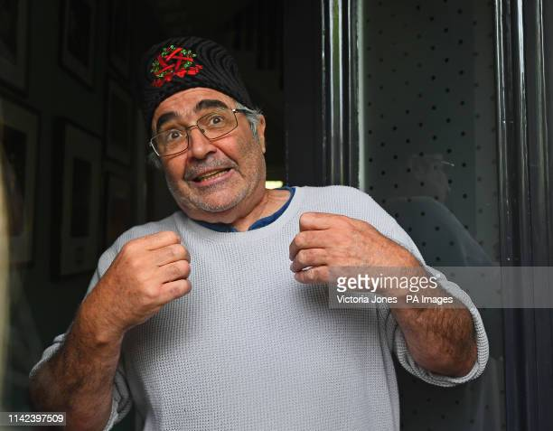 Danny Baker speaking at his London home after he was fired by BBC Radio 5 Live for tweeting a joke about the Duke and Duchess of SussexÕs son using a...