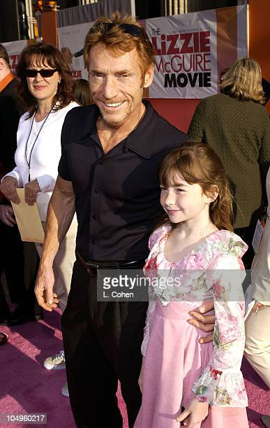 Danny Banaduce and Isabella during The Lizzie McGuire Movie Premiere at The El Capitan Theater in Hollywood California United States