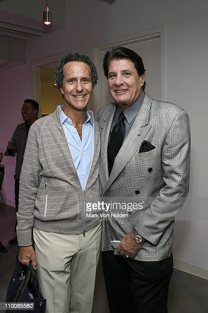 Danny Black and Bluewater Recordings Charles Wallert attend the New York Chapter of NARAS Open House Reception at New York Chapter Office on...